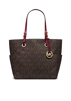 MICHAEL Michael Kors Jet Set East West Signature Tote