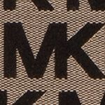 Designer Handbags: Beige/Black/Black MICHAEL Michael Kors Monogram East West Tote