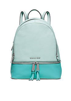MICHAEL Michael Kors Rhea Zip Medium Colorblock Backpack