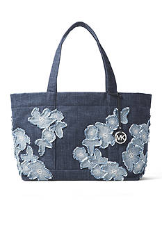 MICHAEL Michael Kors Denim Item Xl Tote Bag