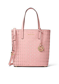 MICHAEL Michael Kors Hayley Large Perforated Leather Tote