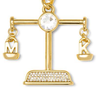 Handbags & Accessories: Michael Michael Kors Handbags & Wallets: Libra MICHAEL Michael Kors Gold-Tone Key Chain