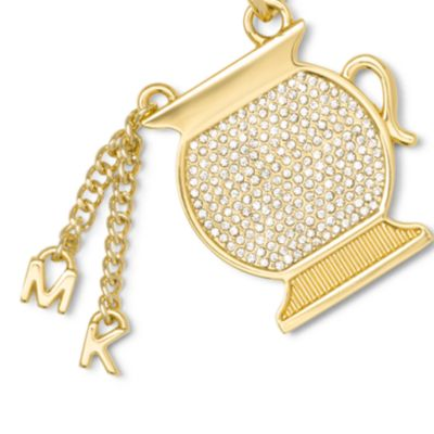 Handbags & Accessories: Michael Michael Kors Handbags & Wallets: Aquarius MICHAEL Michael Kors Gold-Tone Key Chain