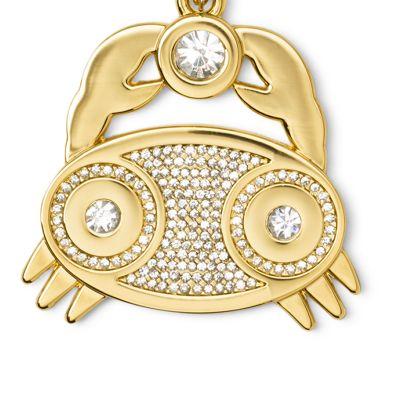 Handbags & Accessories: Michael Michael Kors Handbags & Wallets: Cancer MICHAEL Michael Kors Gold-Tone Key Chain