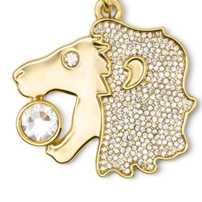 Handbags & Accessories: Michael Michael Kors Handbags & Wallets: Leo MICHAEL Michael Kors Gold-Tone Key Chain
