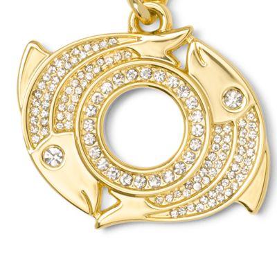 Handbags & Accessories: Michael Michael Kors Handbags & Wallets: Pisces MICHAEL Michael Kors Gold-Tone Key Chain