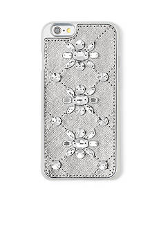 MICHAEL Michael Kors Embellished Leather‑Inlay iPhone® 6/6s Case