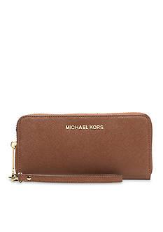 MICHAEL Michael Kors Jet Set Travel Large Flat Multifunction Phone Case