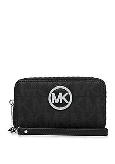 MICHAEL Michael Kors Fulton Large Flat Multifunction Phone Case