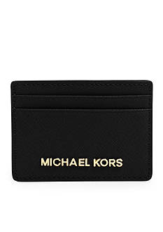 MICHAEL Michael Kors Jet Set Travel Saffiano Leather Card Case