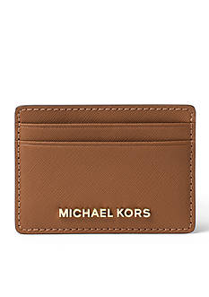 MICHAEL Michael Kors Michael Kors Jet Set Travel Saffiano Leather Card Case
