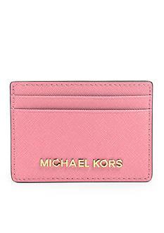 MICHAEL Michael Kors Jet Set Travel Saffiano Leather Card Case