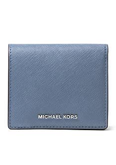 MICHAEL Michael Kors Jet Set Travel Carryall Logo Card Holder