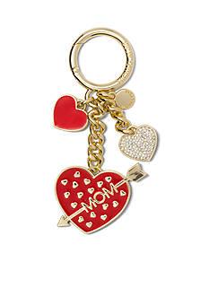 MICHAEL Michael Kors Key Charms Mom Heart Key Fob