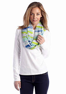Collection XIIX Light Stripe Loop Scarf