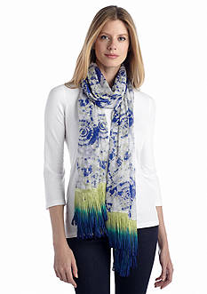 Collection XIIX Tie Dye Spiral Wrap