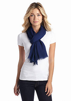 Collection XIIX Crinkle Solid Scarf