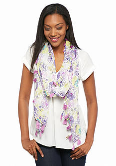 Collection XIIX Floral Scarf