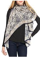Collection XIIX Tile Print Square Scarf