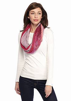 Collection XIIX Paisley Border Infinity Scarf
