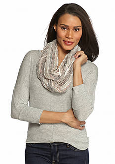 Collection XIIX Spacedyed Pleat Infinity Scarf