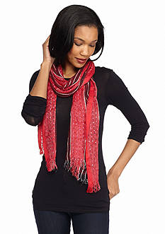 Collection XIIX Stripe Woven Scarf