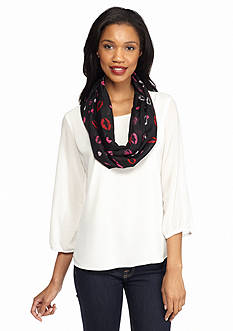 Collection XIIX Lip Explosion Infinity Scarf