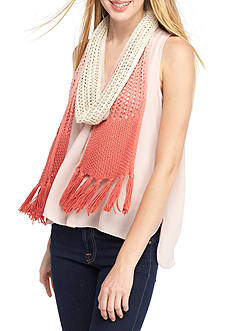 Collection XIIX Ombre Knit Slimmy Scarf