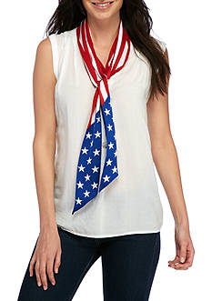 Collection XIIX Americana Skinny Scarf