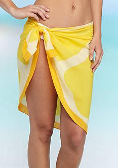 Collection XIIX Bright And Feminine Orange Wrap