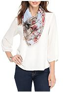 Collection XIIX Garden Skull Square Scarf