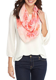 Collection XIIX Floral Garden Infinity Scarves