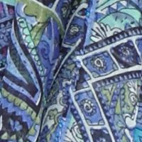Juniors: Collection Xiix Accessories: Brilliant Blue Collection XIIX Paisley Tile Infinity Scarf