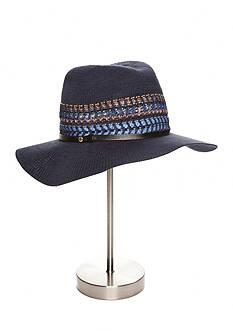 BCBGeneration Multi-Stripe Panama Hat