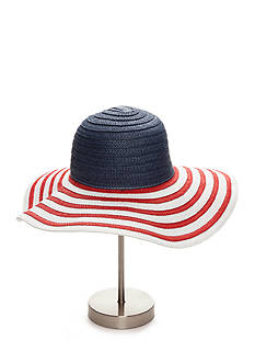Collection XIIX Americana Floppy Sun Hat