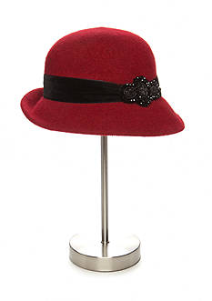 Collection XIIX Dressy Broche Cloche Hat
