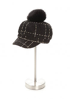 Collection XIIX Pom Pom Cabby Hat