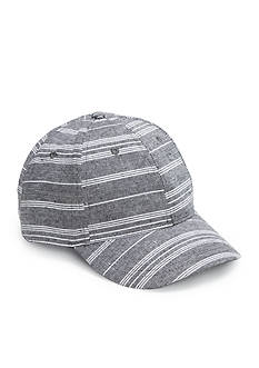 Collection XIIX Striped Baseball Hat