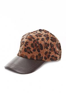 Collection XIIX Leopard Print Baseball Hat