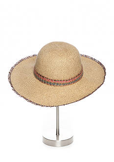 Collection XIIX Fun Fringe Floppy Hat