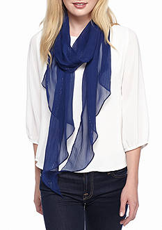 Collection XIIX Lurex® Stripe Solid Scarf