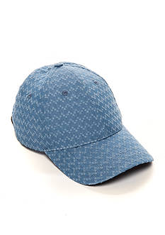 Vince Camuto Denim Baseball Hat
