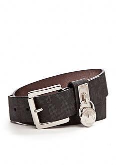 Michael Kors Signature Leather Belt