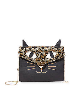 Betsey Johnson Cray Cray Creatures Bear Clutch