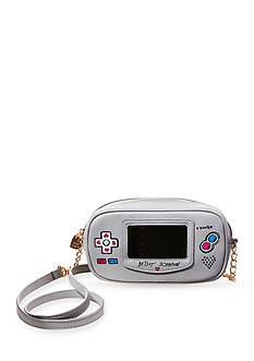 Betsey Johnson Game Girl Crossbody Bag