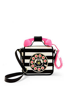 Betsey Johnson Call Me Baby Telephone Crossbody