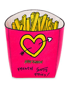 Betsey Johnson Kitsch French Fries Crossbody