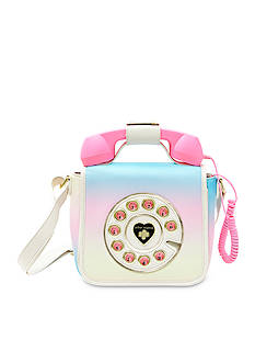 Betsey Johnson Hotline Telephone Crossbody Bag