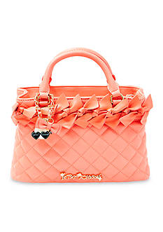 Betsey Johnson Family Ties Mini Satchel