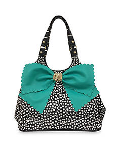 Betsey Johnson Knot Your Average Bow Tote Hobo Bag